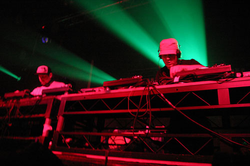 Scratch Perverts @ The Warehouse Project, Manchester on 22-11-2008