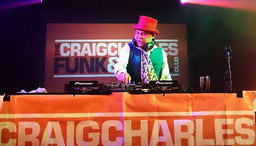 Craig Charles @ Unity Works, Wakefield on 06-02-2016