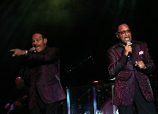 The Four Tops @ Genting Arena (previously LG Arena ) , Birmingham on 26-10-2016